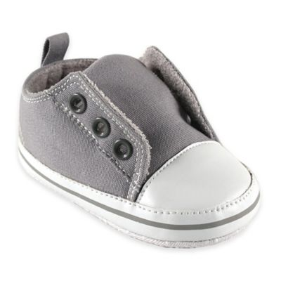 BabyVision® Luvable Friends™ Size 12-18M Laceless Sneaker in Grey