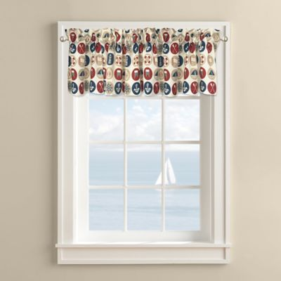 Lake Escape Window Valance