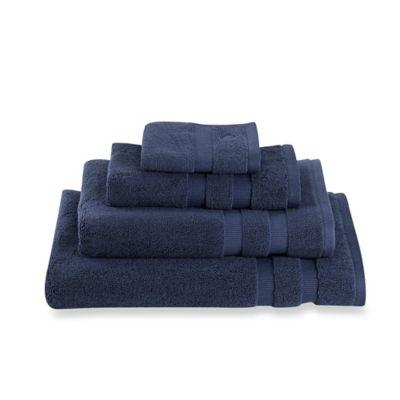 kate spade new york Chattam Stripe Bath Towel in Navy