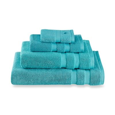 kate spade new york Chattam Stripe Bath Sheet in Aqua