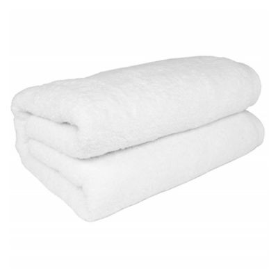 Jumbo-Sized Bath Sheet in White