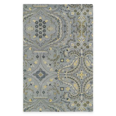 Kaleen Helena Collection Andreas 4-Foot x 5-Foot Area Rug in Grey