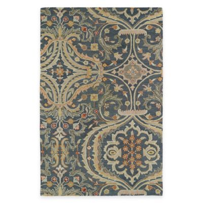 Kaleen Helena Collection Andreas 5-Foot x 7-Foot 9-Inch Area Rug in Pewter