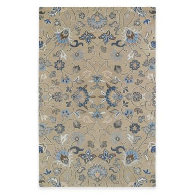 Kaleen Helena Collection Solon 5-Foot x 7-Foot 9-Inch Area Rug in Light Brown