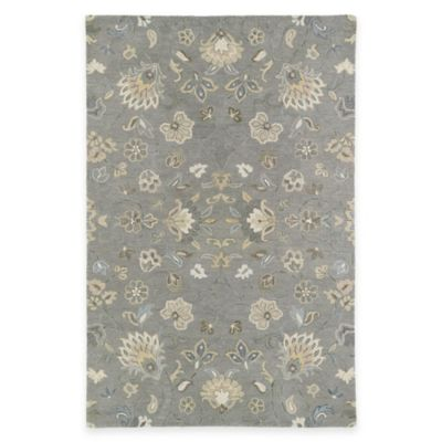 Kaleen Helena Collection Solon 5-Foot x 7-Foot 9-Inch Area Rug in Beige