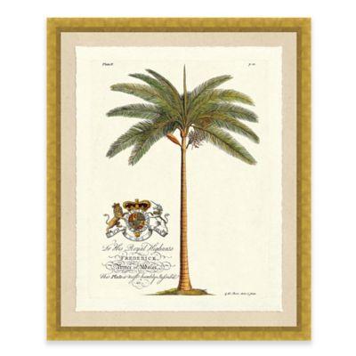 Palm Tree I Framed Art Print