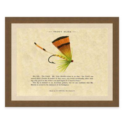 Fishing Flies I Framed Art Print
