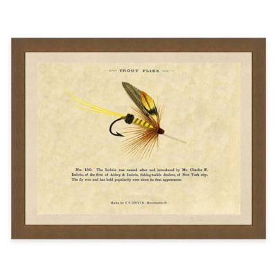 Fishing Flies II Framed Art Print