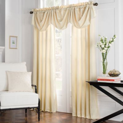 Havana Swag Valance in White