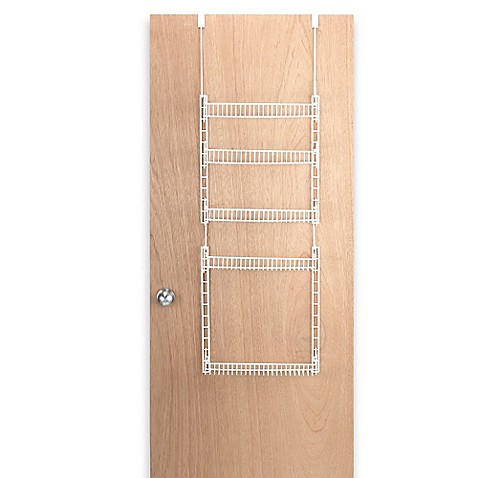 Over the door household organizer compact pantry rack for Door organizer