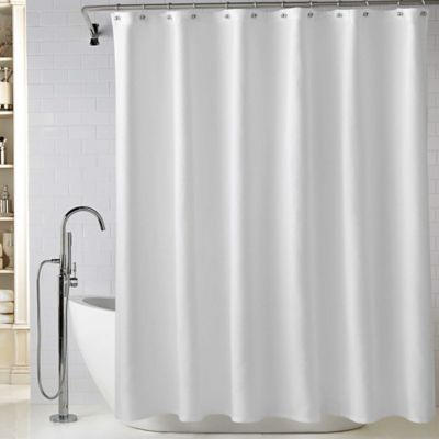 Lamont Home™ Diamond Matelassé 72-Inch x 96-Inch Extra Long Shower Curtain in White