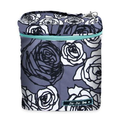 Ju-Ju-Be® Fuel Cell Bottle Bag/Lunch Pail in Charcoal Roses