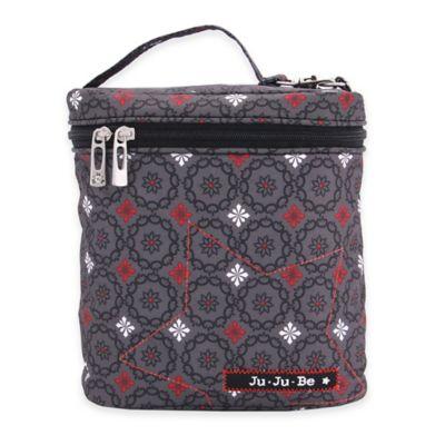 Ju-Ju-Be® Fuel Cell Bottle Bag/Lunch Pail in Magic Merlot/Grey