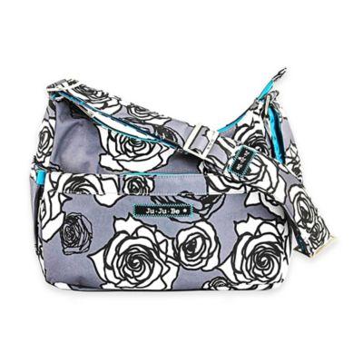 Ju-Ju-Be® HoBoBe Diaper Bag in Charcoal Roses