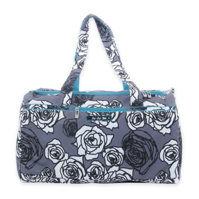 Ju-Ju-Be® Super Star Large Duffle Bag in Charcoal Roses