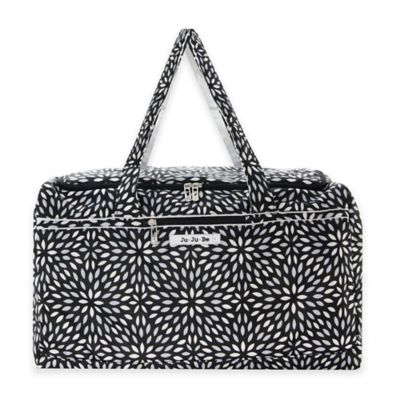 Ju-Ju-Be® Super Star Large Duffle Bag in Platinum Petals