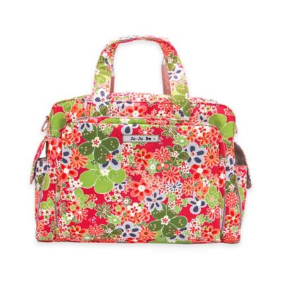 Ju-Ju-Be® Be Prepared Diaper Bag in Perky Perennials