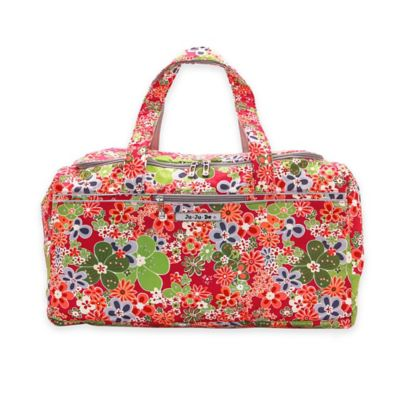 Ju-Ju-Be® Super Star Large Duffle Bag in Perky Perennials