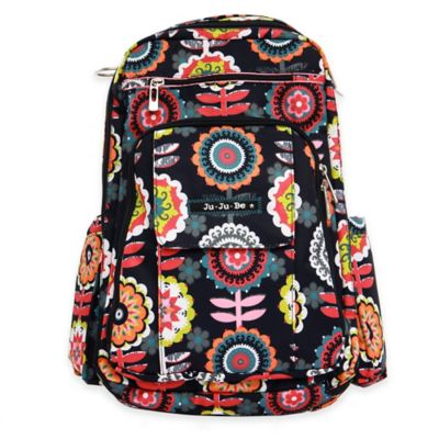Ju-Ju-Be® Be Right Back Backpack Style Diaper Bag in Dancing Dahlias
