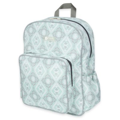 The Bumble Collection™ Getaway Backpack Diaper Bag in Majestic Mint