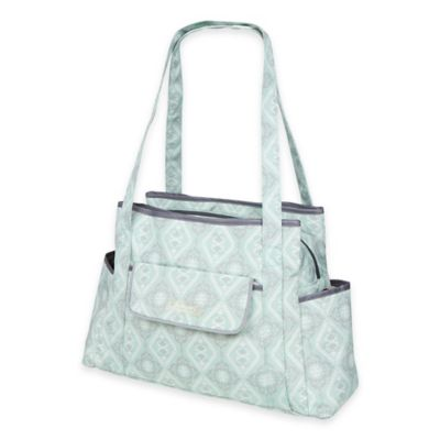 The Bumble Collection™ Rachel Roundabout Diaper Bag in Majestic Mint