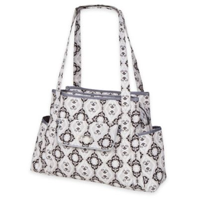 The Bumble Collection™ Rachel Roundabout Diaper Bag in Majestic Slate