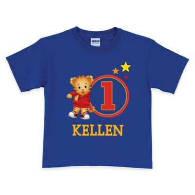 Daniel Tiger's Neighborhood Size 6/8 Age T-Shirt in Royal Blue