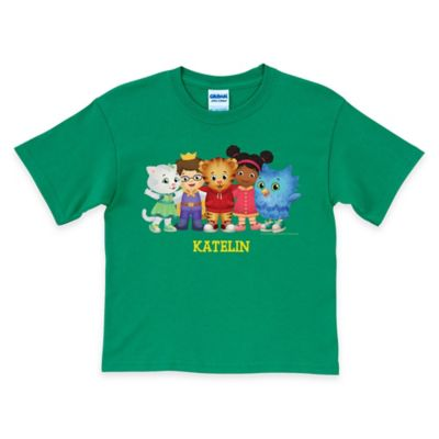 Daniel Tiger's Neighborhood Size 6/8 Group T-Shirt in Green