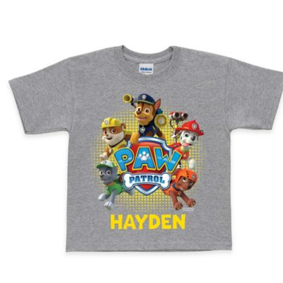"Nickelodeon™ ""PAW Patrol"" Size 10/12 Puptastic T-Shirt in Grey"