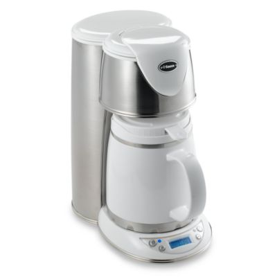 Drip Coffee Maker Problems : Saeco Venus White Drip Coffee Machine - Bed Bath & Beyond