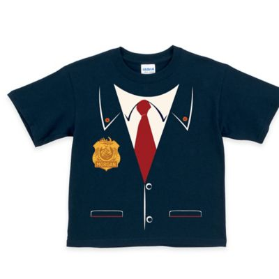 Odd Squad Size 3T Agent T-Shirt in Navy Blue