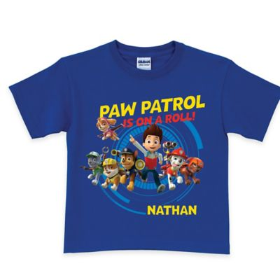 "Nickelodeon™ Size 2T ""PAW Patrol is on a Roll!"" T-Shirt in Royal Blue"