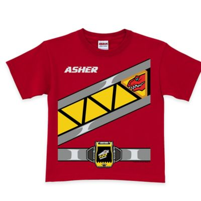 Power Rangers Size 2T Dino Charge Red Ranger T-Shirt in Red