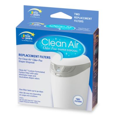 The First Years Clean Air Odor Free™ Diaper Disposal Replacement Filter (Package of 2)