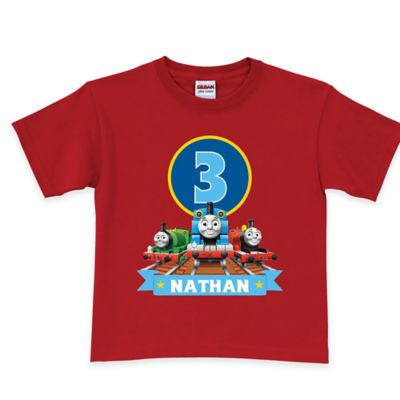 Thomas & Friends Size 2T Birthday Express T-Shirt in Red