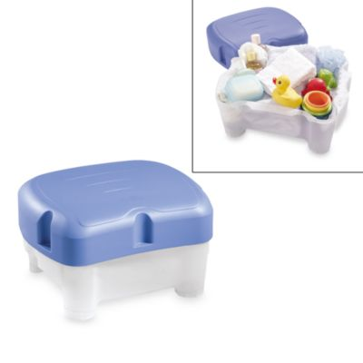 The First Years Sit & Store Parent Bathing Seat and Stepstool