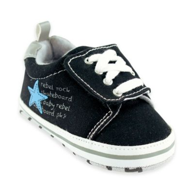 BabyVision® Luvable Friends™ Size 0-6M Skater Sneaker in Blue