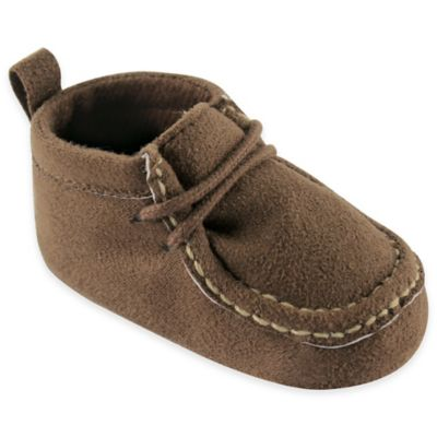 BabyVision® Luvabale Friends™ Size 0-6M Suede Shoe in Brown
