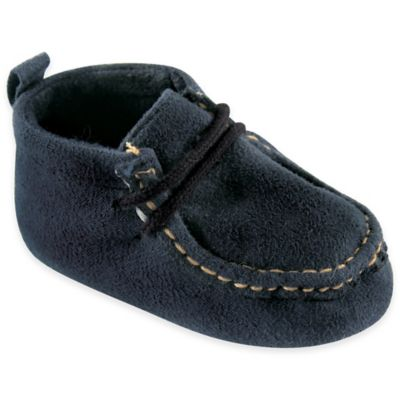 BabyVision® Luvable Friends™ Size 6-12M Suede Shoe in Navy
