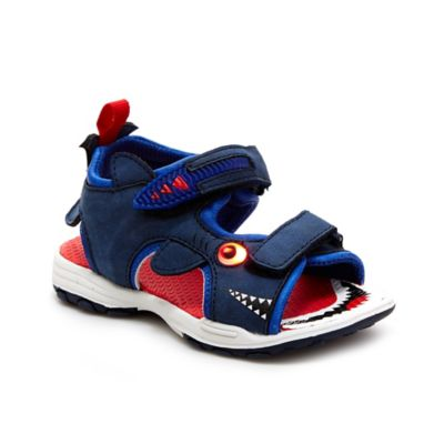 carter's® Size 5 Jaws Light Up Sandal in Blue