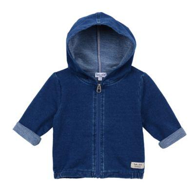 Splendid® Girl's Size 3-6M Zip-Front Hoodie Jacket in Indigo