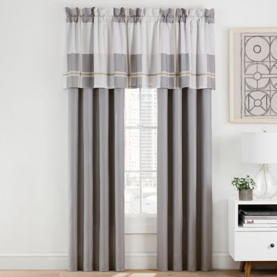 Damon 84-Inch Window Curtain Panel Pair