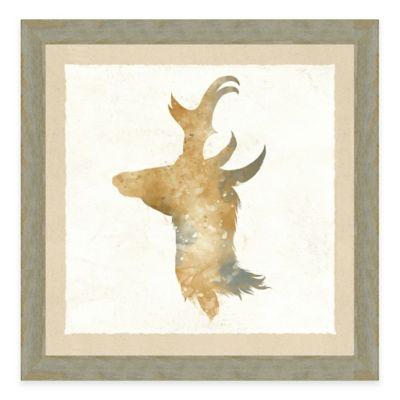 Watercolor Animal Head II Framed Art Print
