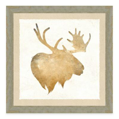 Watercolor Animal Head III Framed Art Print