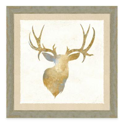 Watercolor Animal Head IV Framed Art Print