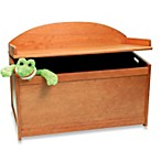 Pecan Toy Chest Bench