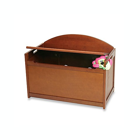 Cherry Toy Chest Bench