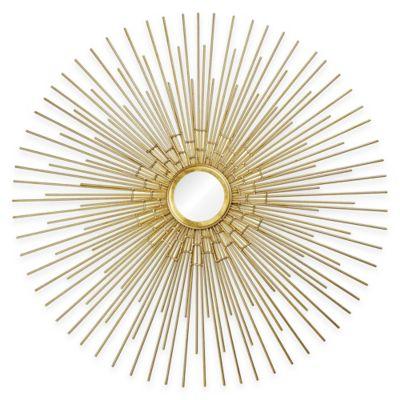 Gold Hanging Mirrors