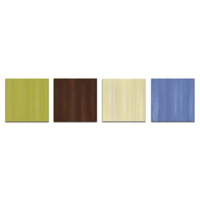 Cultivation Abstract Metal Wall Art in Earth Tones