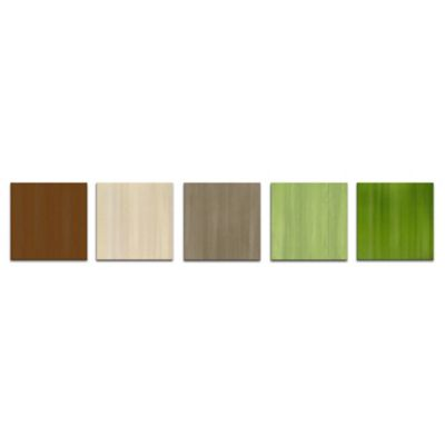Nature's Touch Abstract Metal Wall Art in Earthy Neutral Colors